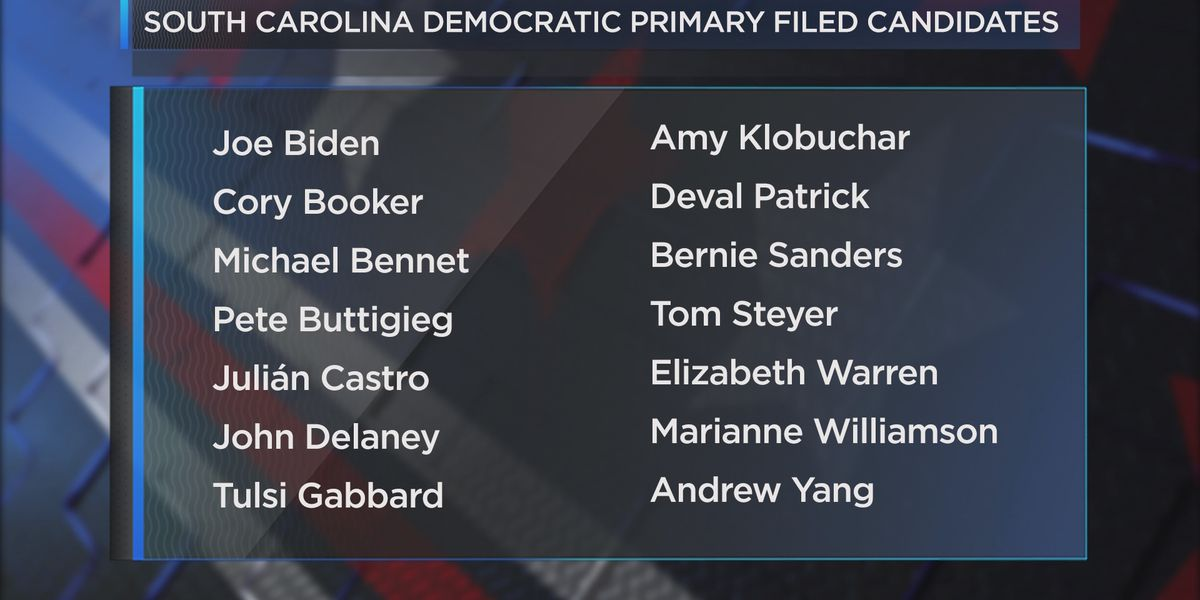 Final day to file for Democratic Party in South Carolina