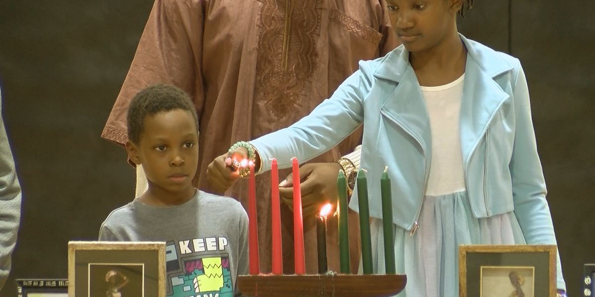 Savannah residents celebrate third night of Kwanzaa