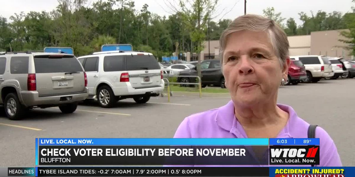 Bluffton residents can check voter eligibility before November