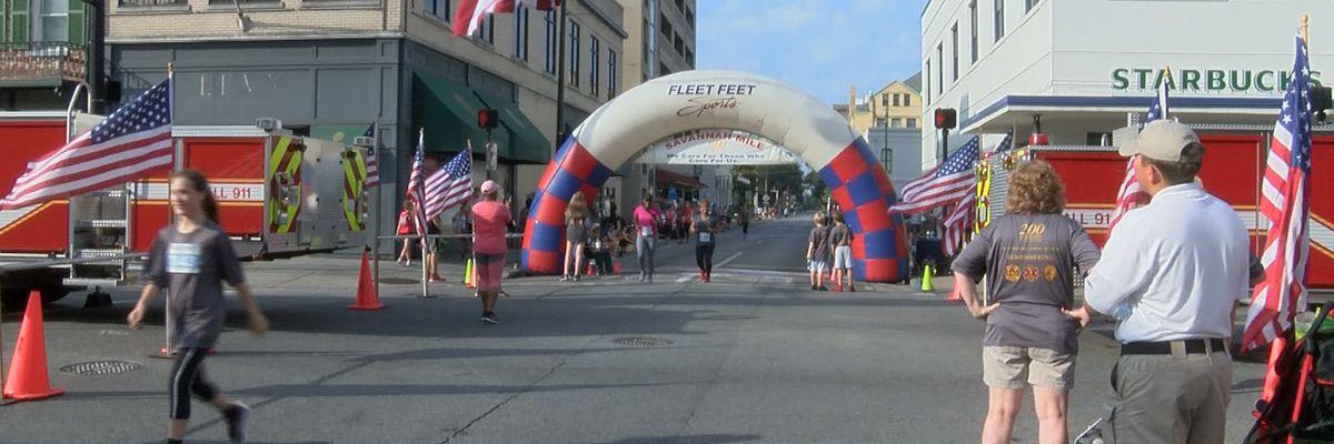 Hundreds run Savannah Mile to honor fallen heroes