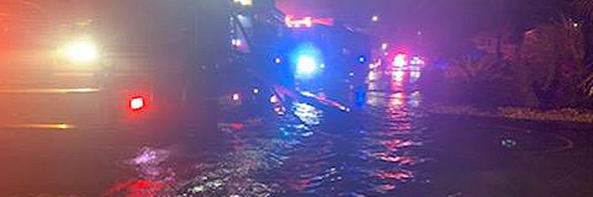 Crews in NMB rescue drivers on flooded roads, respond to multiple house fires