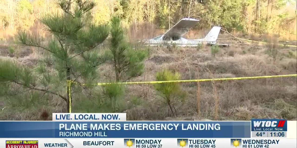 Plane makes emergency landing in Richmond Hill - clipped version
