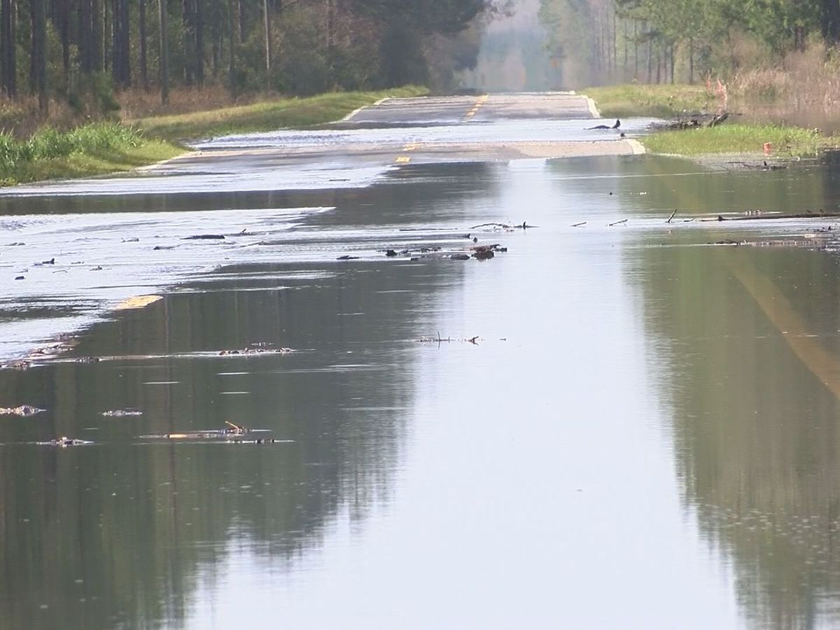McIntosh Co. roads still impacted by high river level