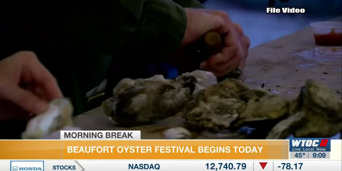 Beaufort Oyster Festival Underway