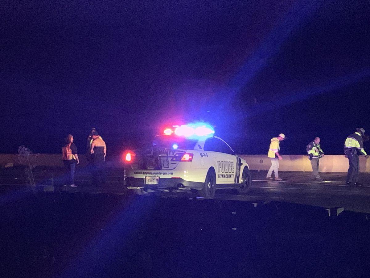 1 dead after crash on I-95 in Brunswick