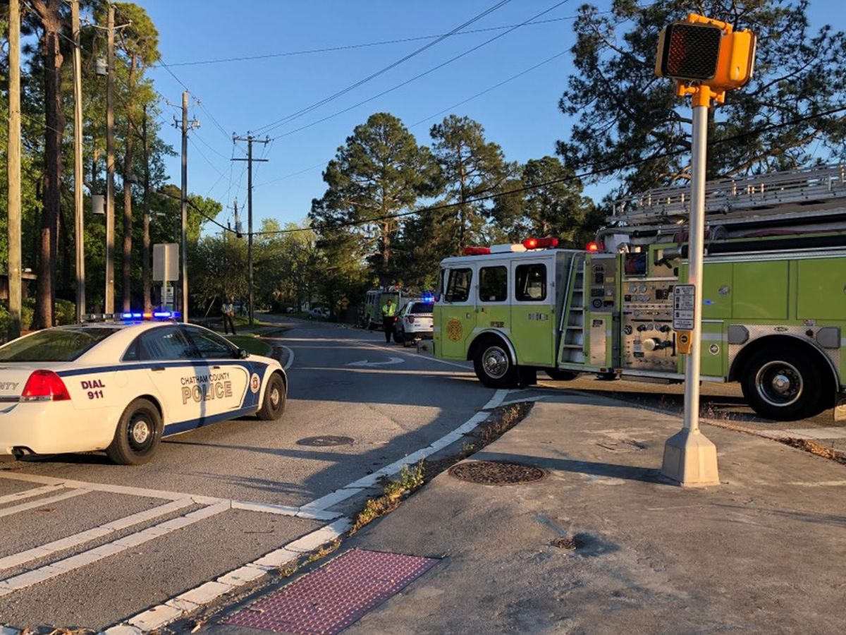 Power has been restored after wreck caused outages near GA 204, King George Blvd.