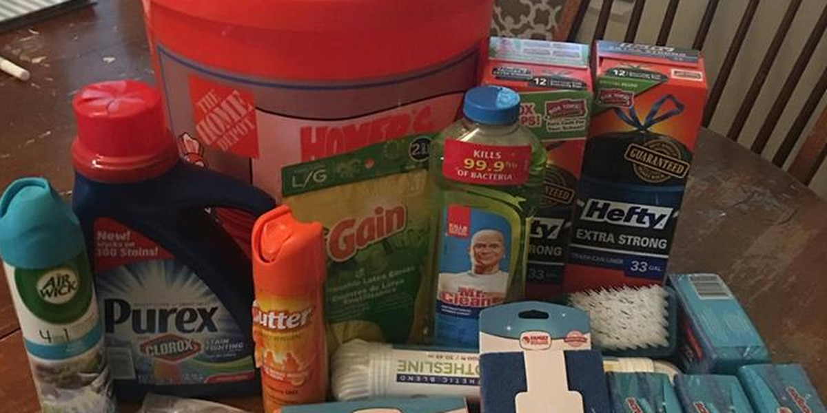 Flood Bucket Challenge: Local non-profit collects items for LA flood victims