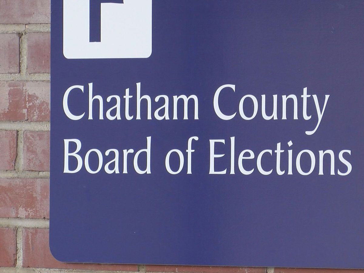 Chatham County Board of Elections explains early absentee ballot scanning process, security