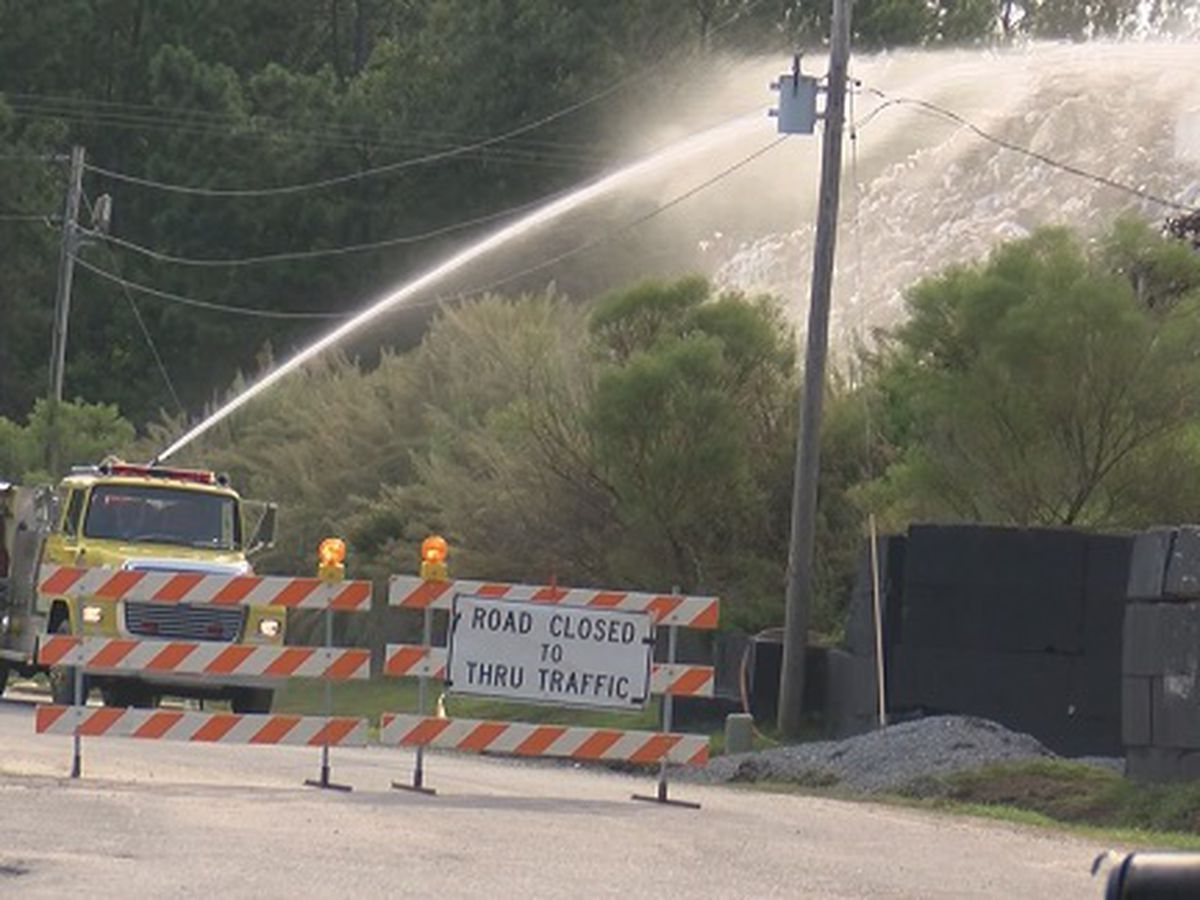 Savannah Riverkeeper concerned about runoff effects from Jasper Co. trash fire