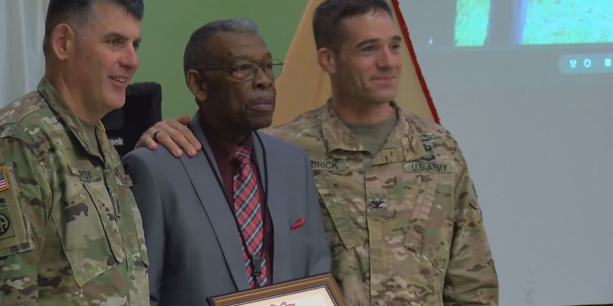 Retirement party held at Ft. Stewart for man with 56 years of service