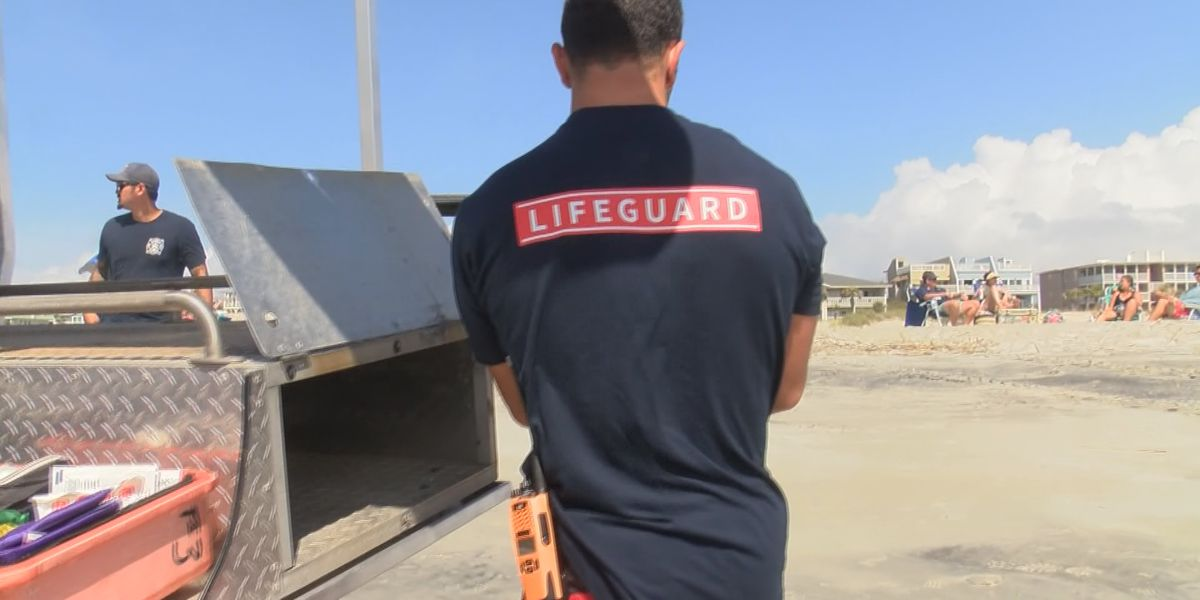 Tybee Island Fire Department holds lifeguard tryouts