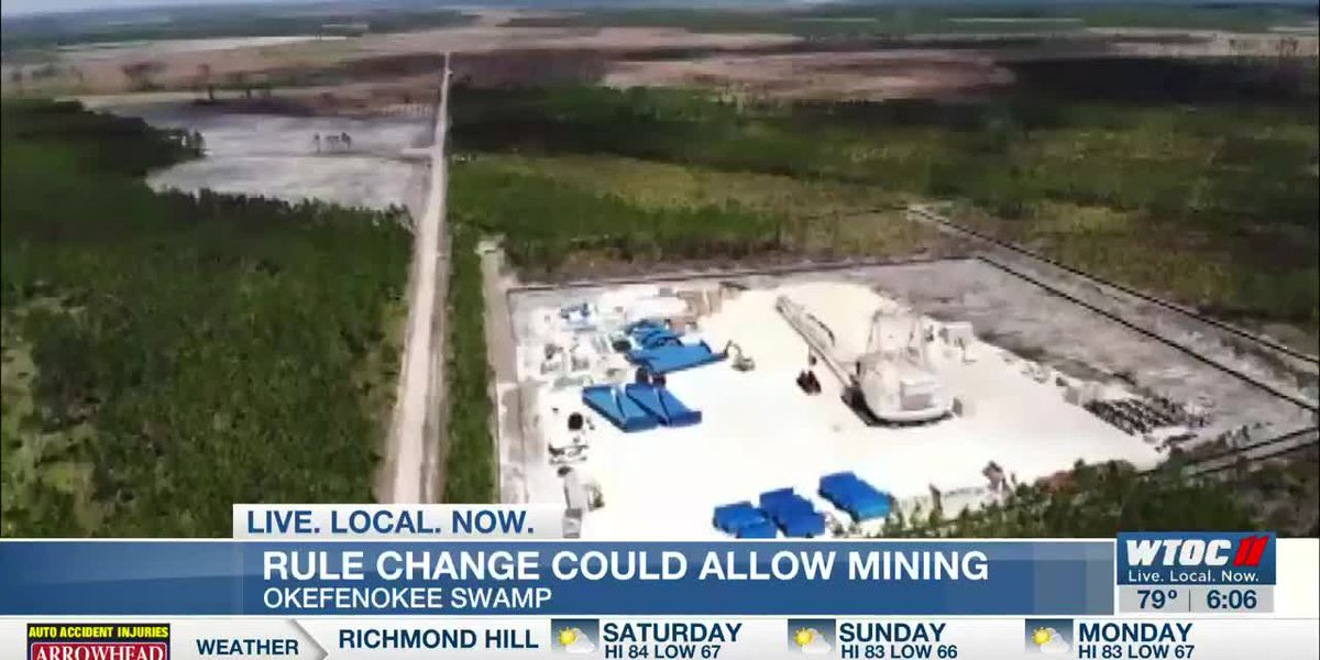 Rule change could allow mining near Okefenokee Swamp