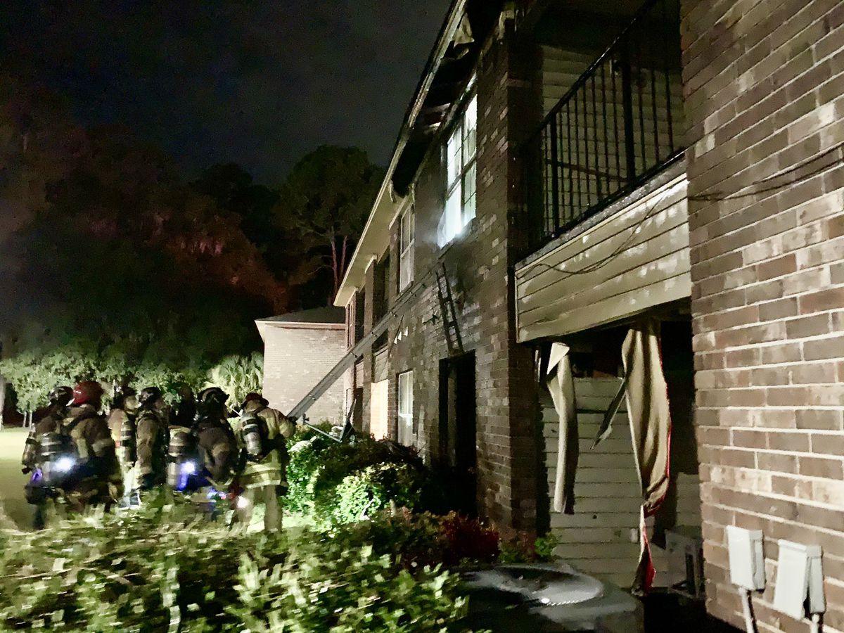 SFD: Morning fire that damaged 2 apartments being investigated as domestic-related arson