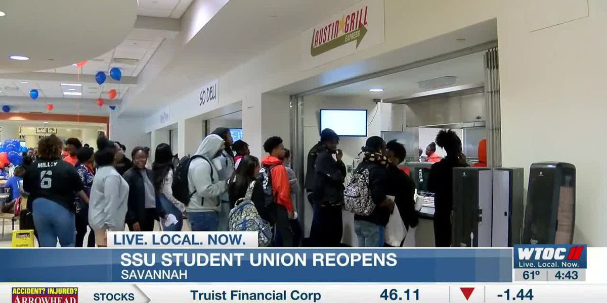 Student Union reopens at SSU after closure for cleaning, maintenance