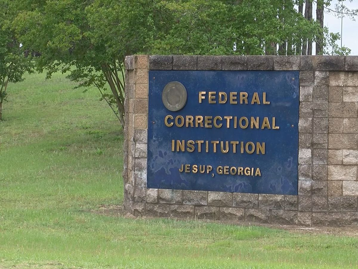 Federal Bureau of Prisons confirms 32 inmates positive for COVID-19 at Jesup prison