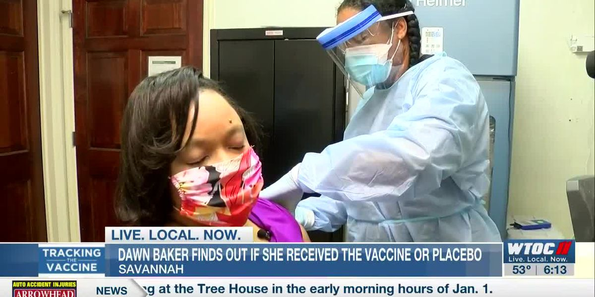 WTOC anchor learns if she received the vaccine or placebo during COVID-19 vaccine trial