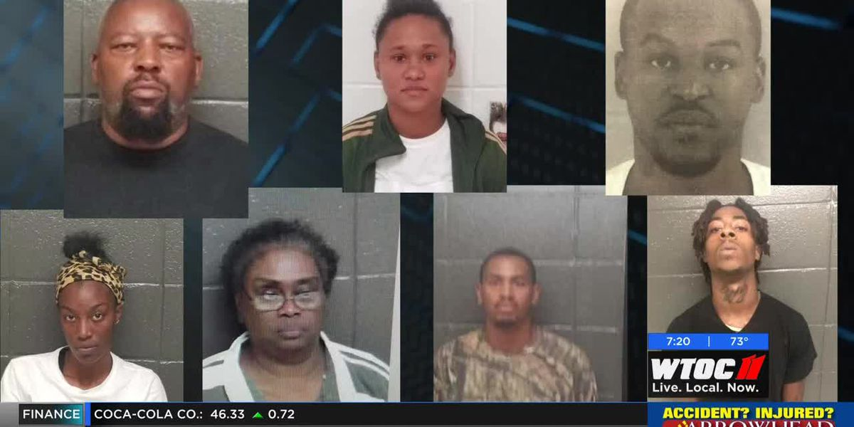 Alma Police arrest 7 in connection to death investigation