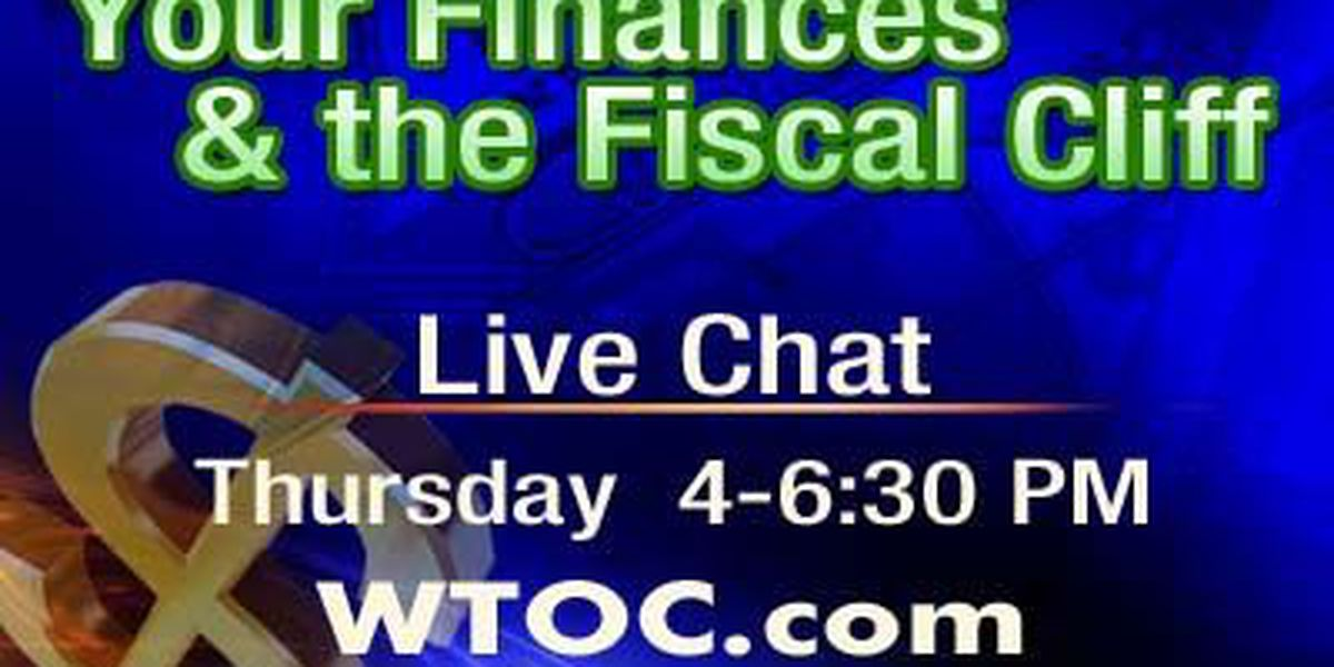 CHAT Transcript: Your Finances and the Fiscal Cliff