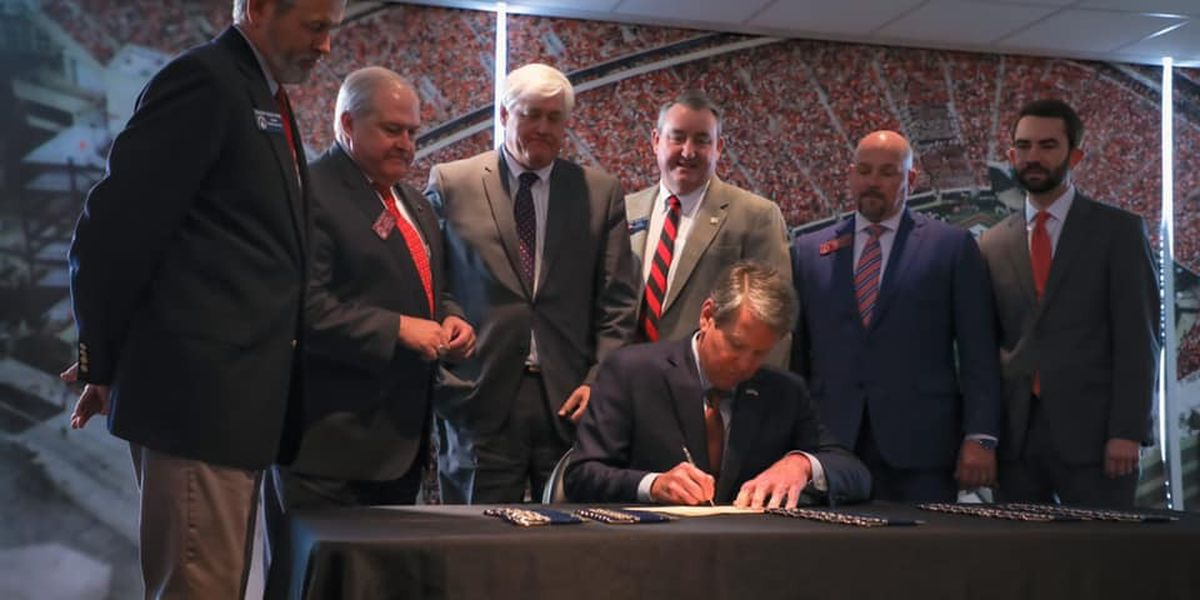 Gov. Kemp signs athlete compensation bill into law