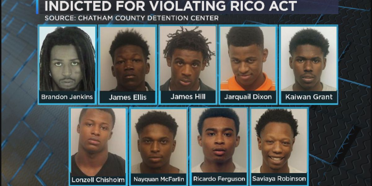 Nine indicted for racketeering, 1 for theft after car dealership break-ins
