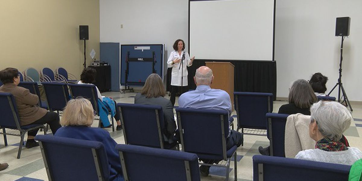 Seminar held at Memorial Health to learn more about colorectal cancer