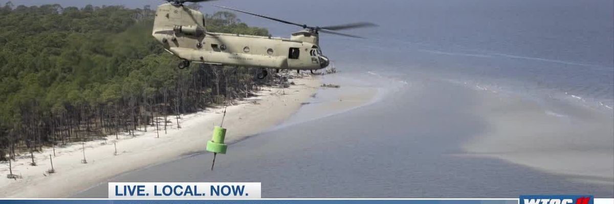 Good News: Military training mission helps recover stranded buoys