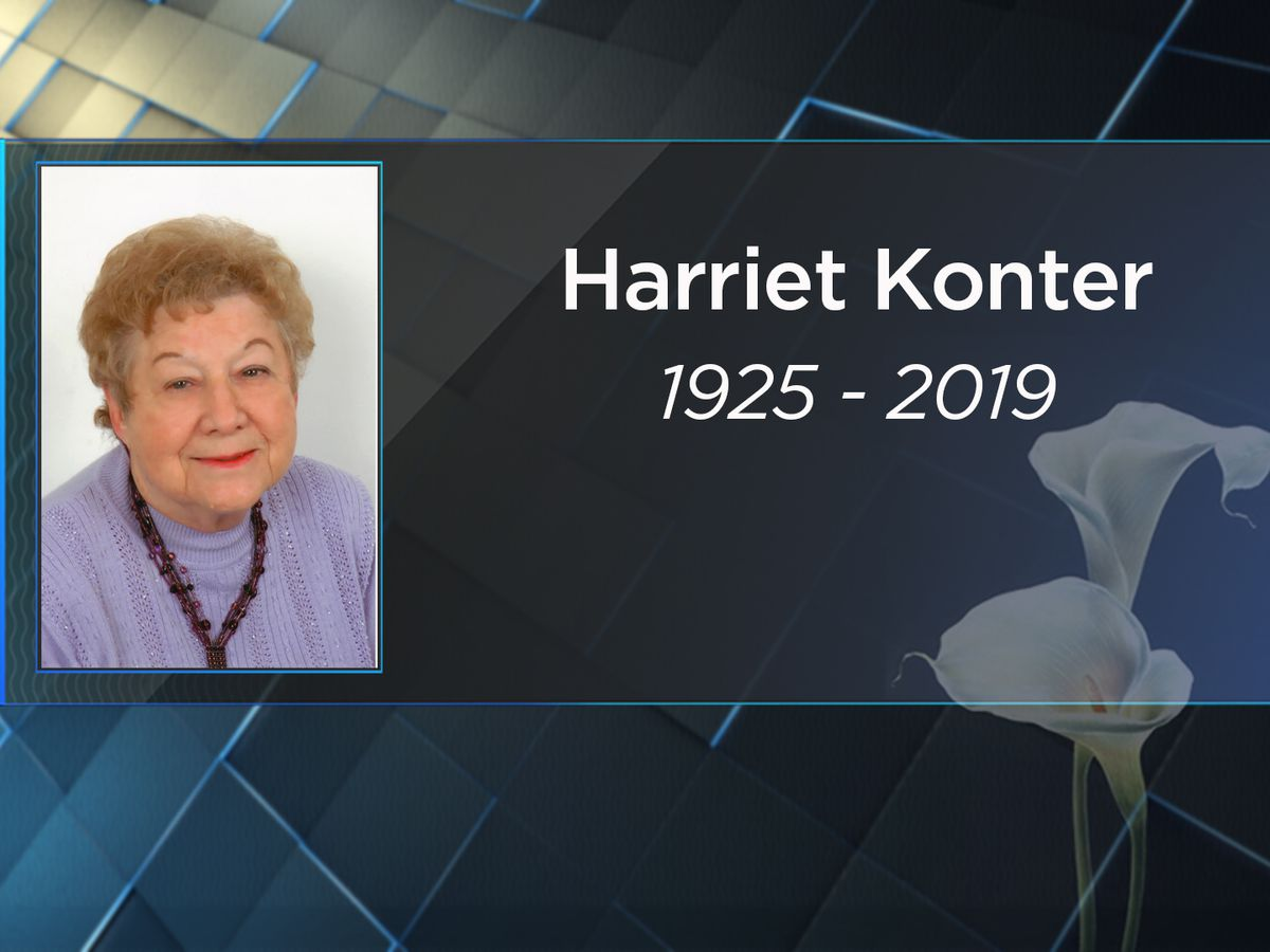 Harriet Konter passes away at age 94