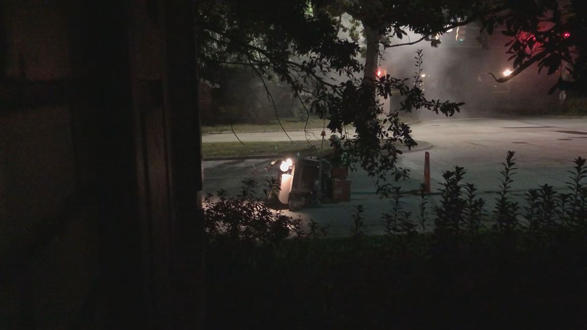 Loud, overnight roadwork disrupts Savannah neighborhood