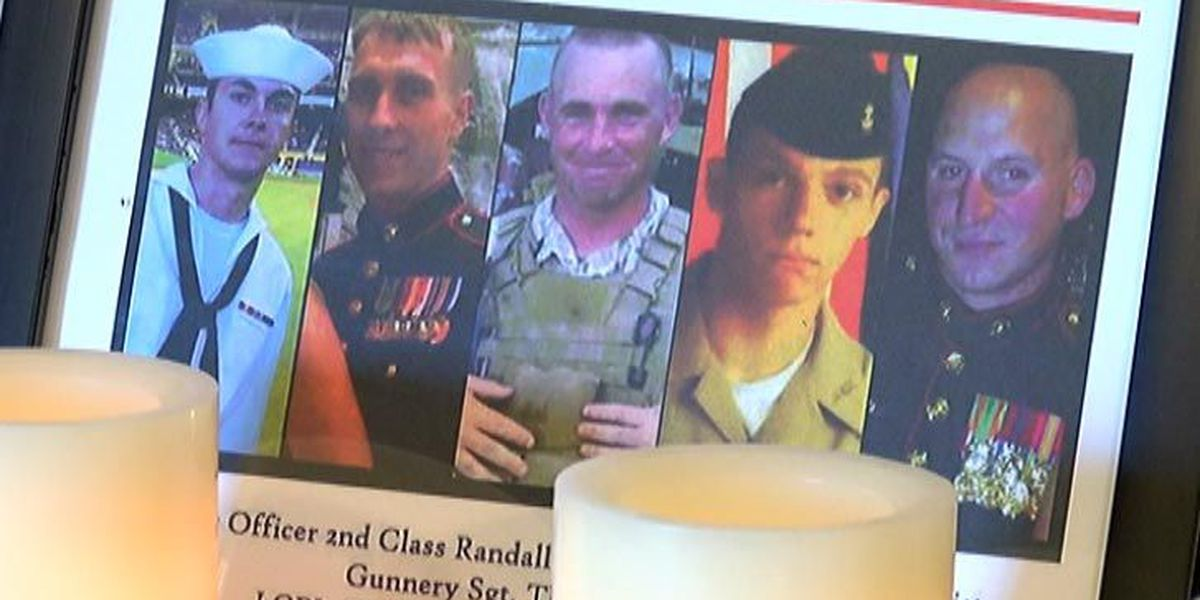 Fairhaven Funeral Home sets up guest book to remember Military killed in Chattanooga shooting