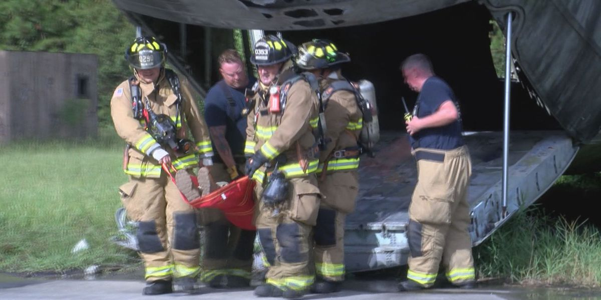 Emergency exercise held at Fort Stewart, Hunter Army Airfield