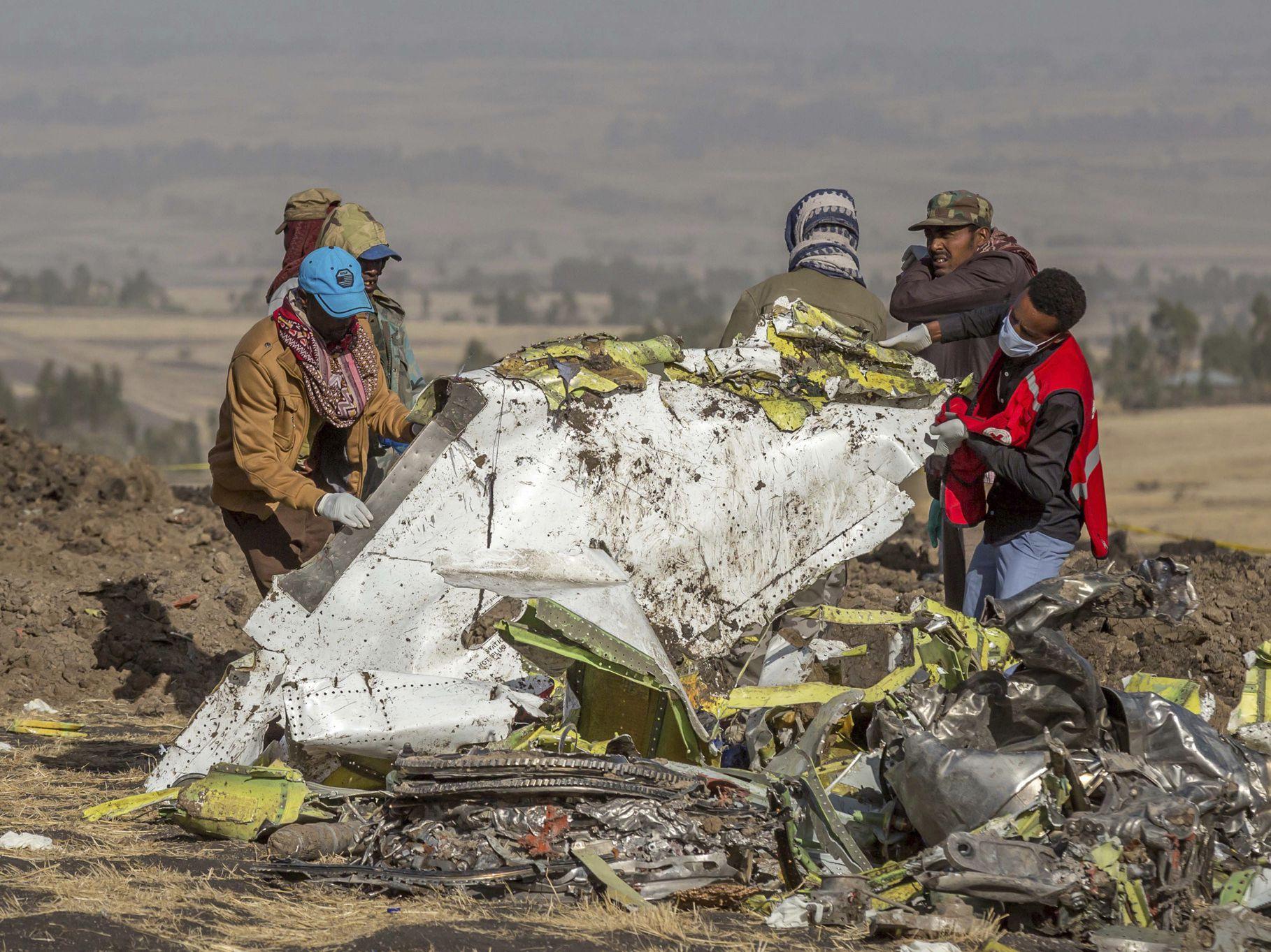 Ethiopian report says faulty sensor data led to jet crash