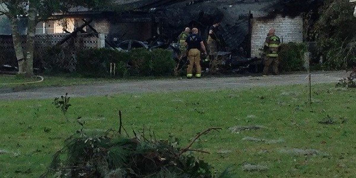 Crews respond to fire at Southside home