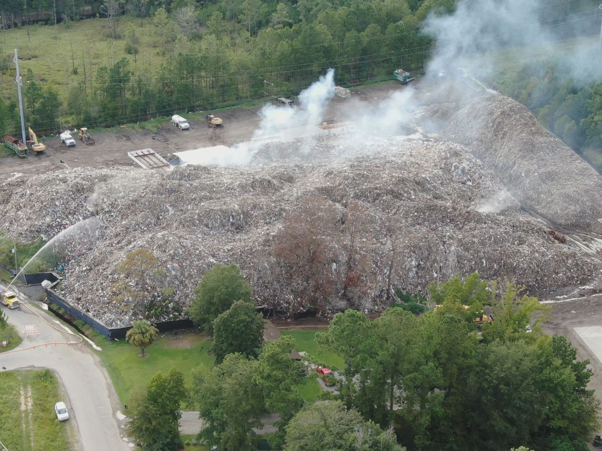 WTOC Investigates: Who will pay to extinguish the burning trash pile in Jasper County?