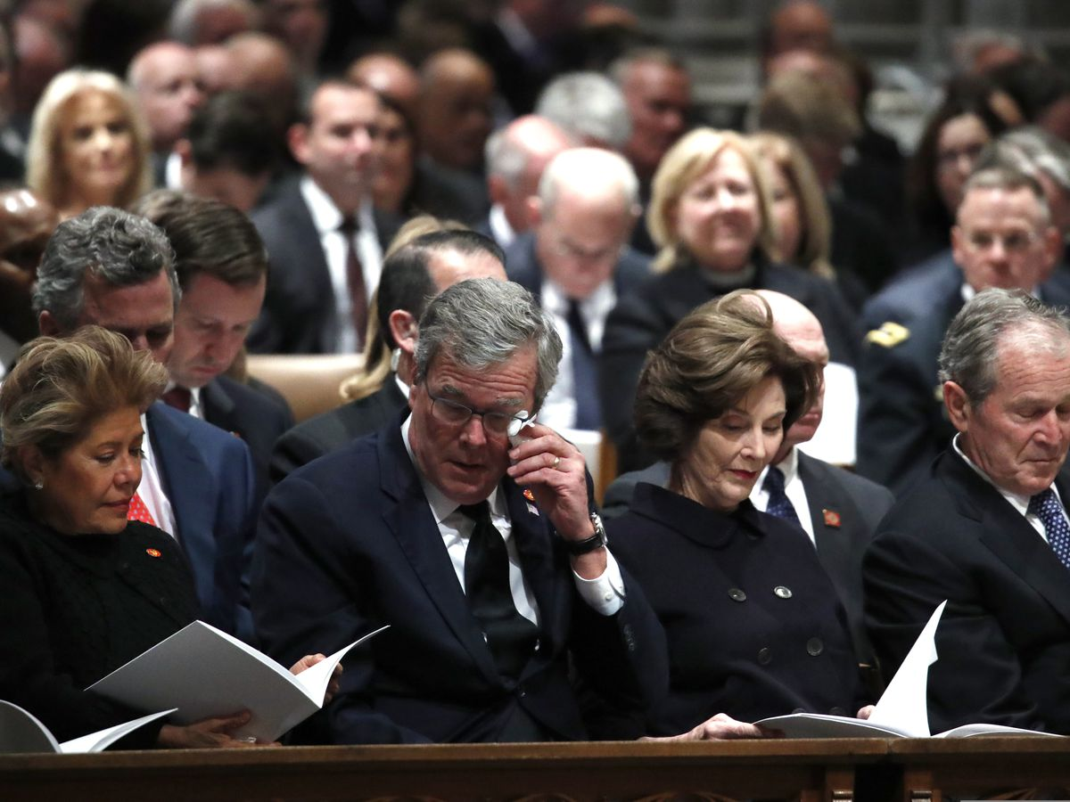 President George H.W. Bush honored at state funeral; body returns to Texas to lie in repose