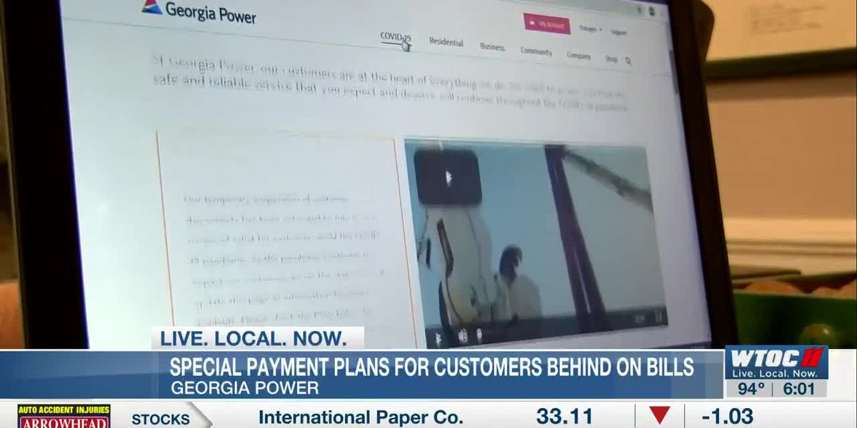 Georgia Power offering special payment plans for customers behind on bills