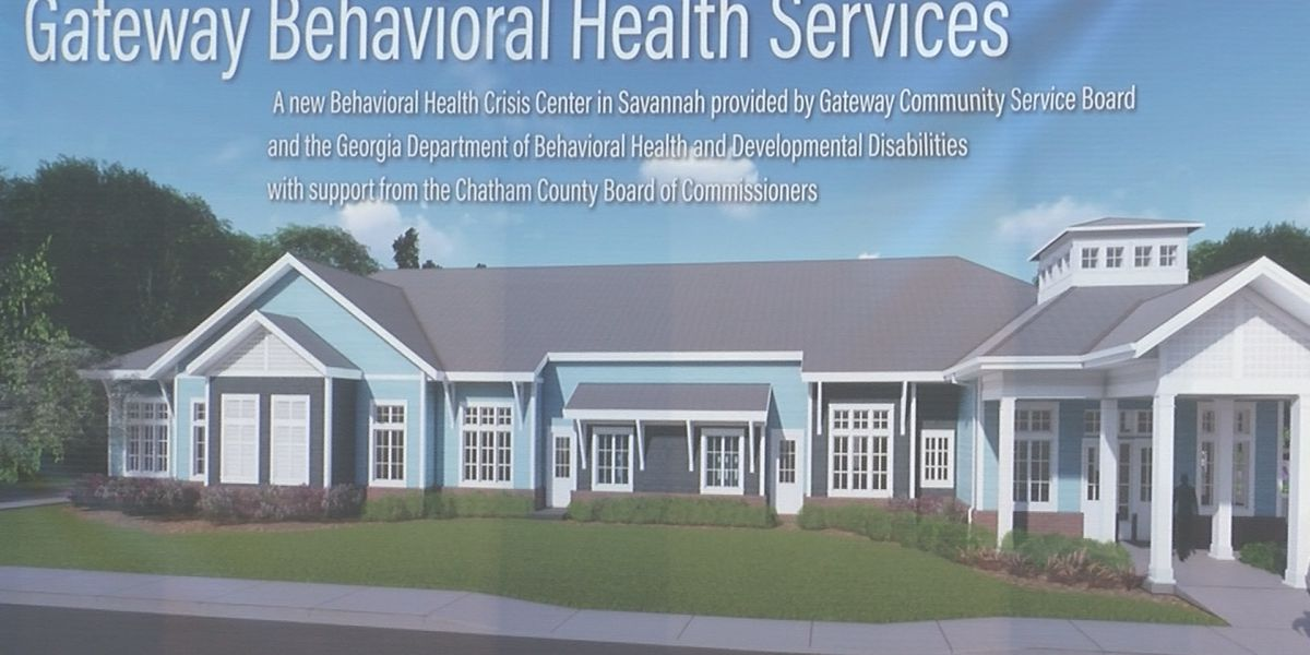 Chatham County breaks ground on mental health center