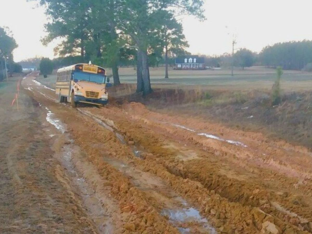 Evans Co. School District making transportation changes to lessen impact on wet dirt roads
