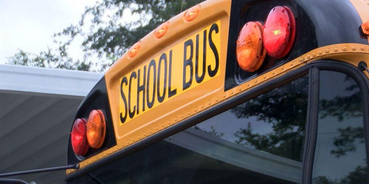 Beaufort County school bus involved in minor crash