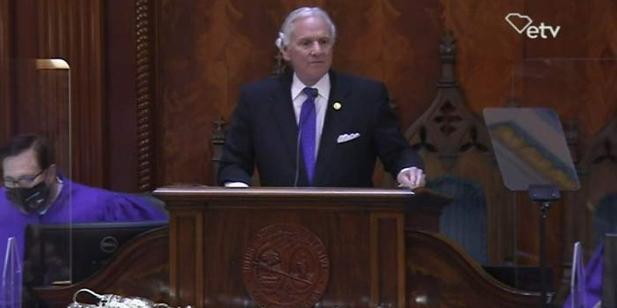 Gov. McMaster defends COVID-19 response in State of the State
