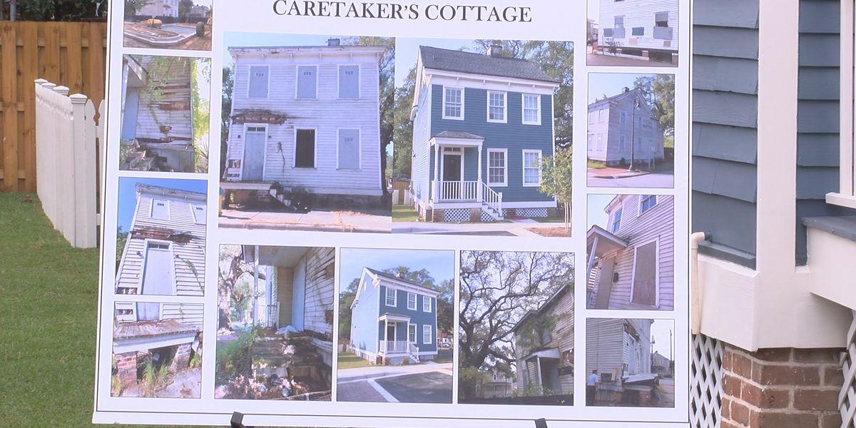 City celebrates opening of Savannah Police Caretaker Cottage with ribbon cutting