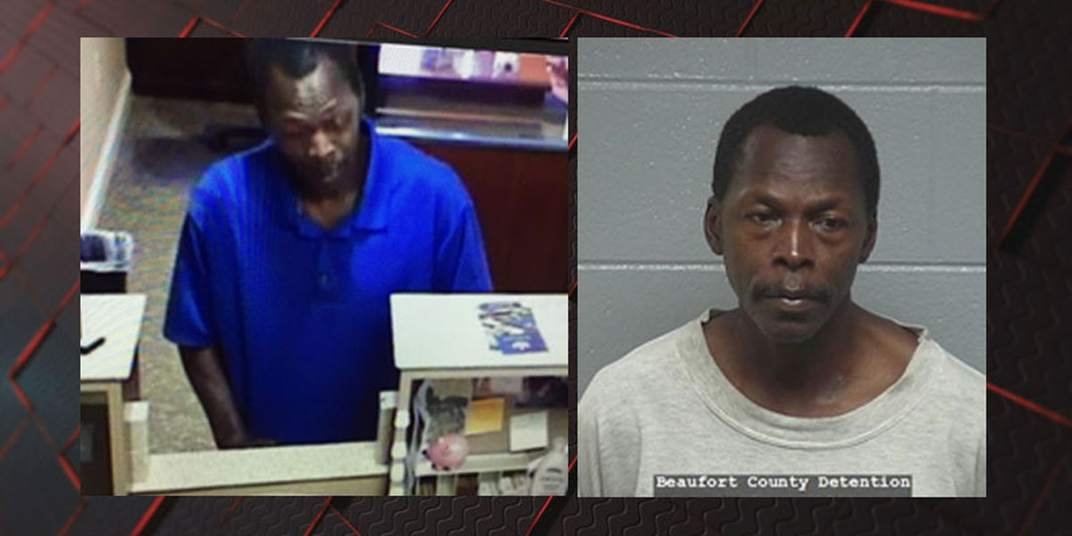Person of interest arrested in South State Bank robbery in Beaufort