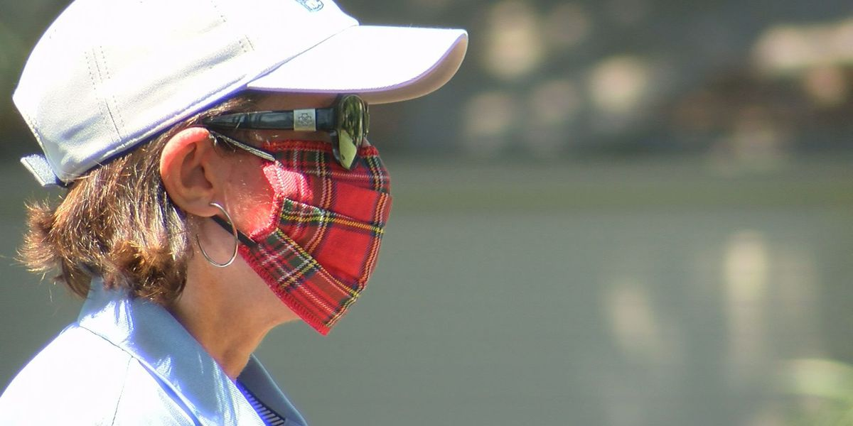 RBC Heritage volunteers sport tartan pandemic-style during tournament