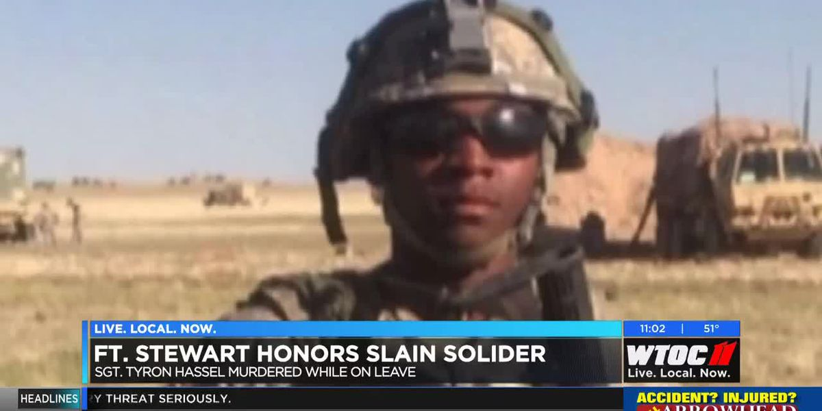 Ft. Stewart honors slain soldier