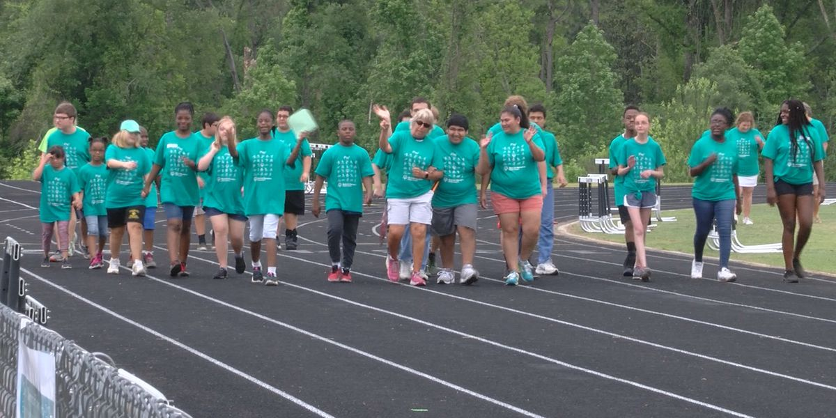 Champions soar at Evans Co. Special Olympics