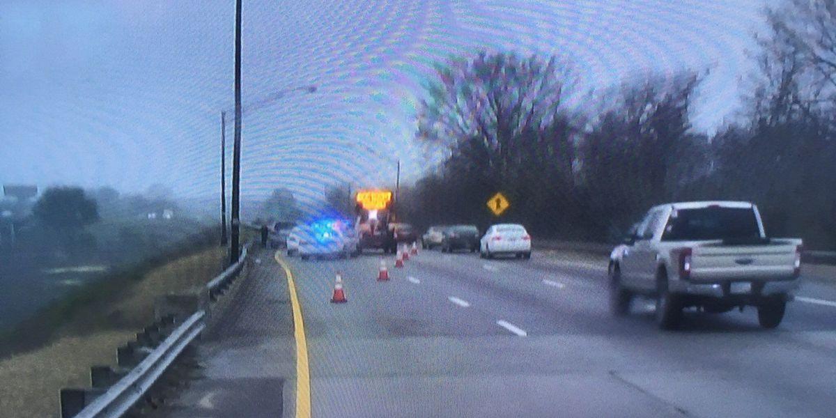 Crash cleared on I-16 westbound near I-516