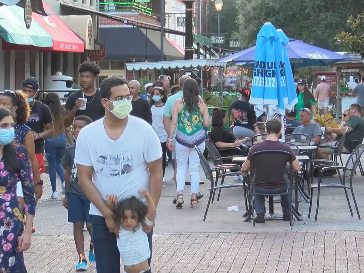 Crowds expected in Downtown Savannah over Fourth of July weekend