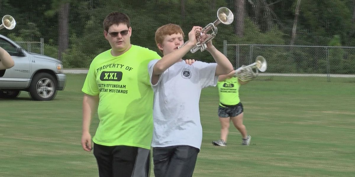 Good News: Blind student marches with South Effingham HS band