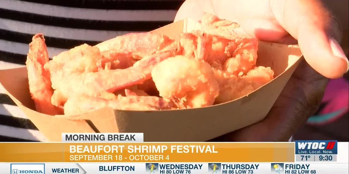 Beaufort Shrimp Festival Offers New Format, Same Tasty Seafood