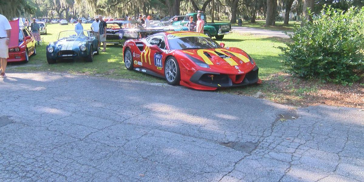 Oglethorpe Driving Club hosts car show at Bethesda Academy