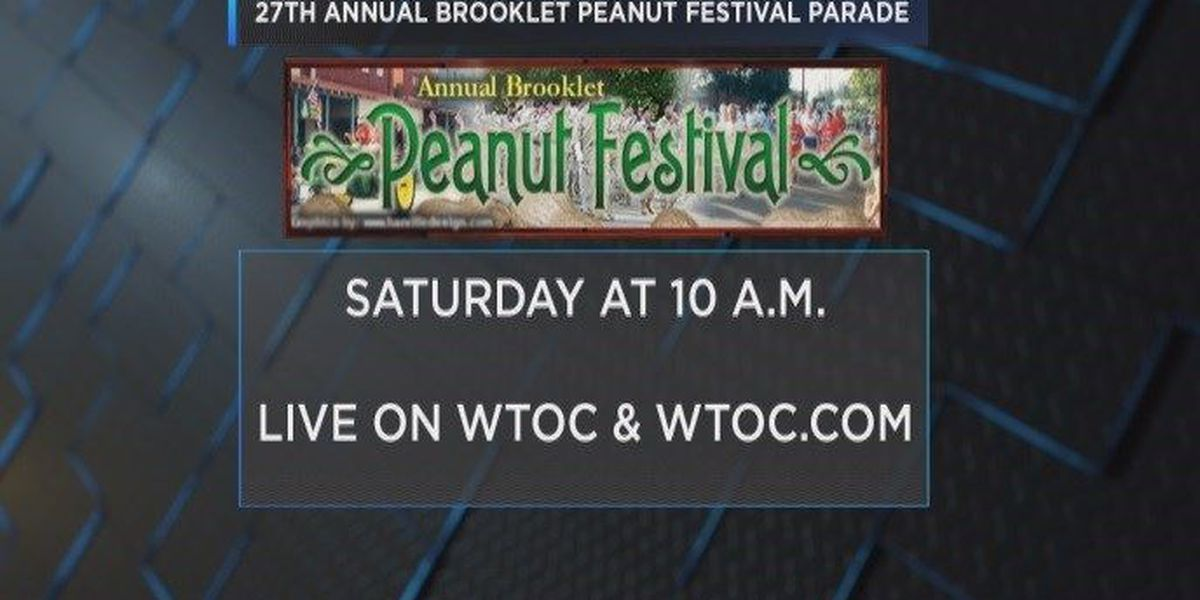 WATCH LIVE: 27th annual Brooklet Peanut Festival parade on WTOC